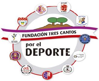 Logo Fundación Tres Cantos por el Deporte
